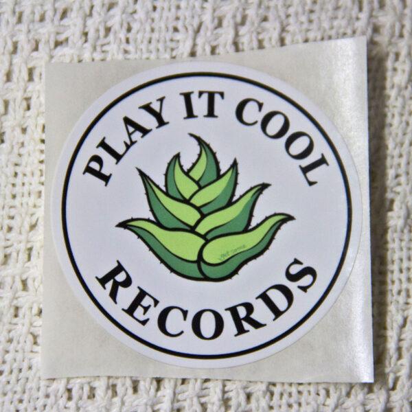 Play It Cool Records Vinyl Sticker